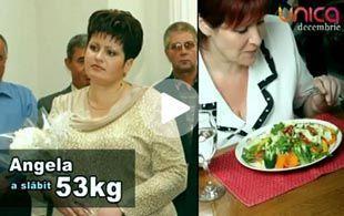 Foto: Angela Sandu a slăbit 53 de kg