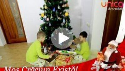 Moş Crăciun există!