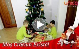 Foto: Moş Crăciun există!