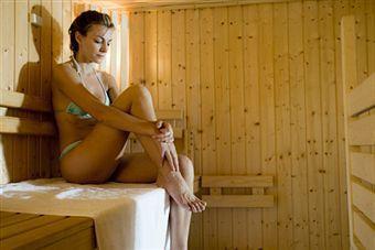 Foto: Sauna prieşte… dar nu tuturor!