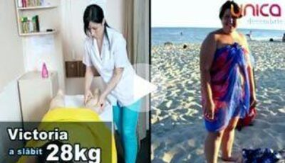Victoria Odolean a slăbit 28 de kg