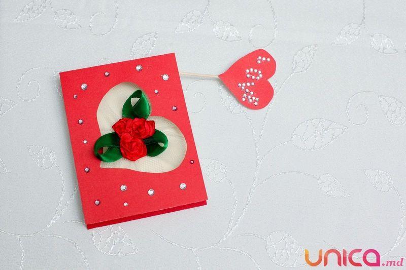 De Sfântul Valentin fă cea mai frumoasă felicitare hand made!