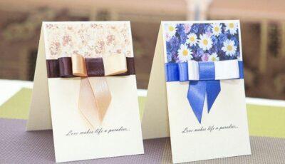 Fă-ţi singură invitaţiile pentru nunta ta!