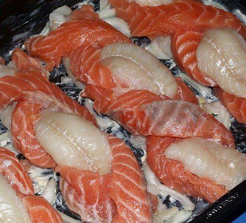 File de pește împletit