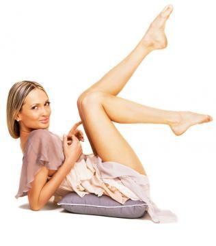 Picioare  perfecte  fără  vene  proeminente!