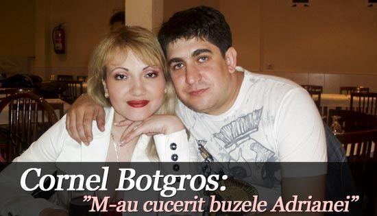 "Foto: Cornel Botgros: ""M-au cucerit buzele Adrianei"""
