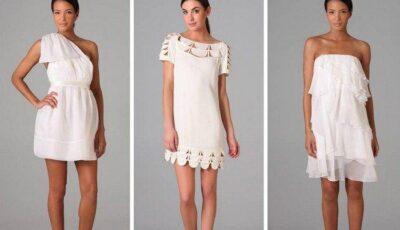 5 rochii albe pentru o vară perfectă!