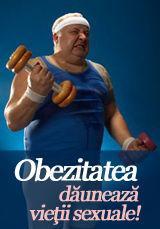 Foto: Obezitatea dăunează vieţii sexuale!