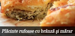 Foto: Plăcinte rufoase cu brânză şi mărar