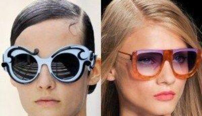 Tendinţe în materie de ochelari de soare în 2012!