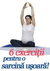 Foto: 6 exerciții pentru o sarcină ușoară!