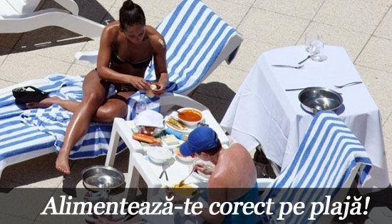 Foto: Alimentează-te corect pe plajă!