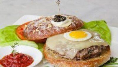 Cel mai scump hamburger din lume!