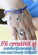 Foto: Fii creativă şi confecţionează-ţi cea mai trendy brăţară!