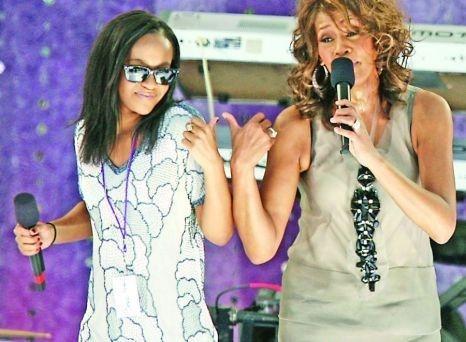 Fiica lui Whitney Houston a refuzat să meargă la nunta tatălui ei