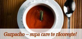 Foto: Gazpacho – supa care te răcoreşte!
