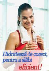 Foto: Hidratează-te corect, pentru a slăbi eficient!