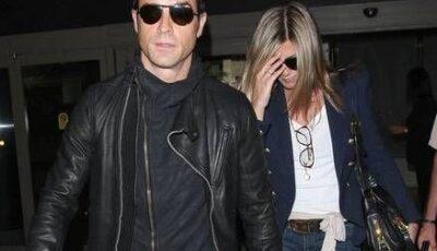 Jennifer Aniston s-a logodit cu Justin Theroux? Actrița s-a întors din vacanță cu un diamant uriaș pe deget!