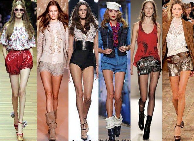 Modele de pantaloni scurți pentru această vară!