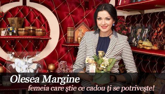 Foto: Olesea Margine – femeia care ştie ce cadou ţi se potriveşte!