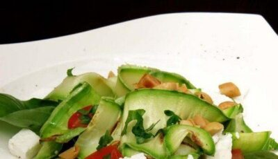 Salată de dovlecei grill!