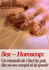 Foto: Sex – Horoscop: Ce visează să-i faci în pat, dar nu are curajul să îți spună!