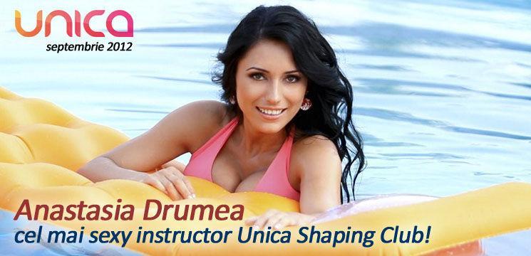 Anastasia Drumea – cel mai sexy instructor Unica Sport!