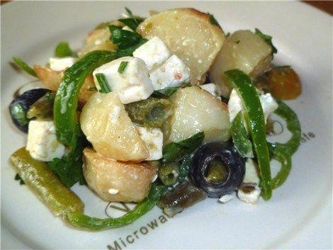 Salată de cartofi în stil grecesc!