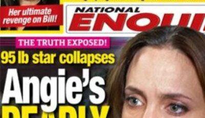 Angelina Jolie, la un pas de moarte!