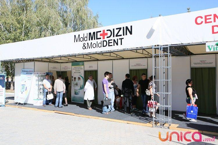 Expoziția МoldMEDIZIN & MoldDENT oferă servicii medicale gratuite vizitatorilor