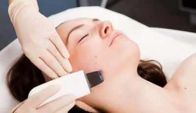 Peeling cu ultrasunet – curățarea profundă a tenului