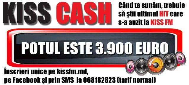 Spre bucuria ascultătorilor KissFM,  a revenit Kiss Cash!