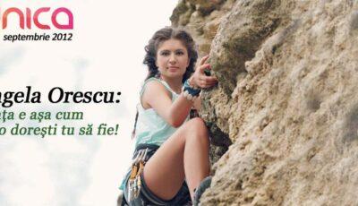 Angela Orescu:  Viața e așa cum ți-o dorești tu să fie!