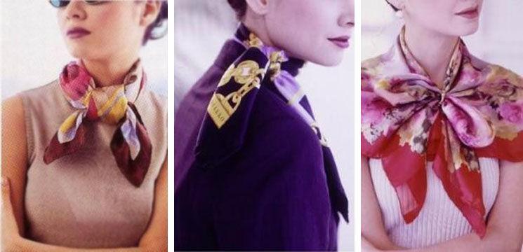 5 moduri diferite de a purta o eşarfă