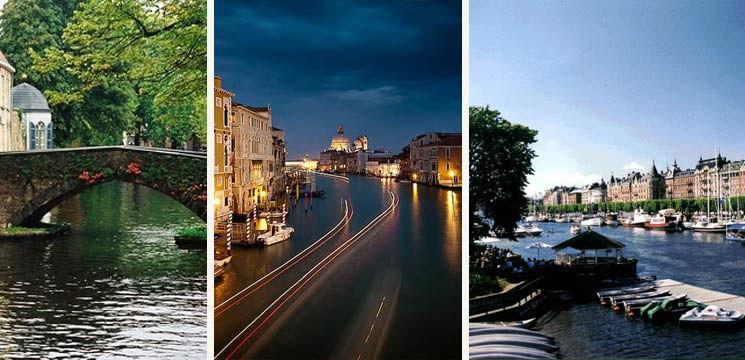 Cele mai frumoase oraşe pe apă din lume!