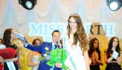 Miss Earth Moldova 2012, a fost desemnată Aliona Chitoroagă