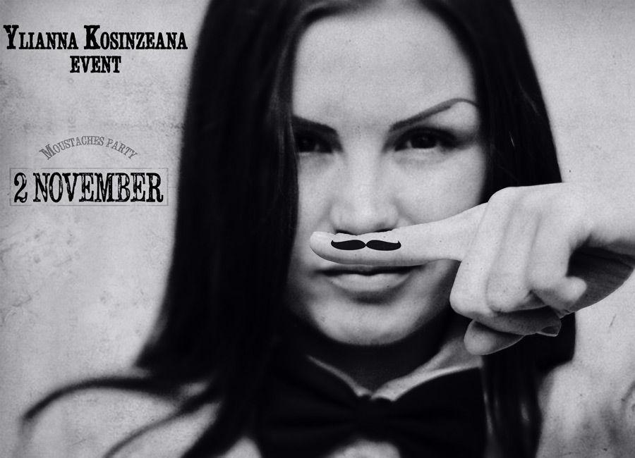 "Vino la ""Moustaches Party""- cea mai stilată petrecere a lunii noiembrie!"