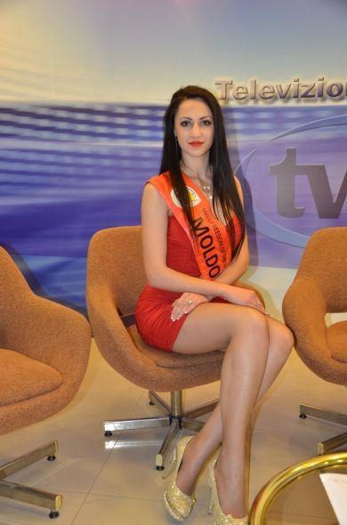 """Moldoveanca care a căștigat concursul """"Miss freedom of the world"""""""