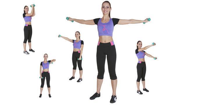 5 Exerciţii pe care le faci cu ajutorul ganterelor