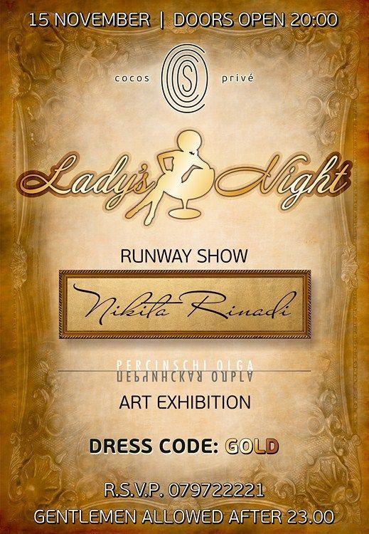 Fashion Lady's Night în Chișinău