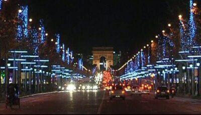 Parisul se pregătește de sărbătoare