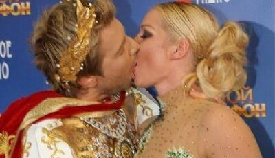 Bascov și Volochkova – sărut pasional în direct!