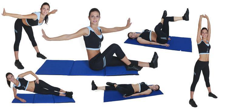 Foto: 4 Exerciţii pentru un abdomen de invidiat