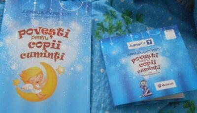 Jurnalul cu povești- cadoul ideal pentru copilul tău!