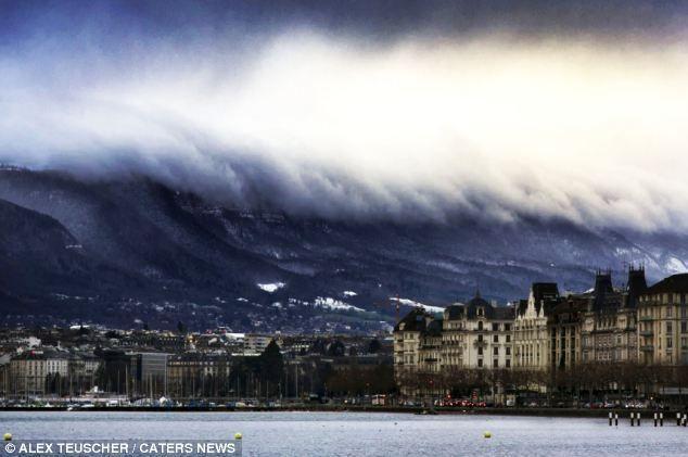 IMAGINE APOCALIPTICĂ într-un oraş din Elveţia