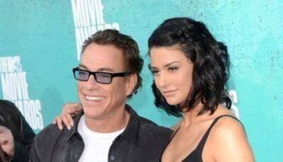 Fotografii cu fiica lui Jean-Claude Van Damme