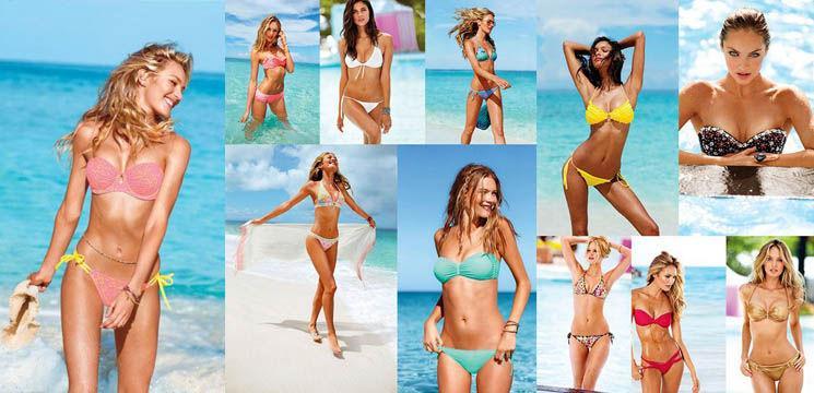 Cele mai seducătoare costume de baie de la Victoria's Secret 2013