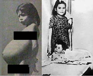 Povestea fetiței care a născut la 5 ani!