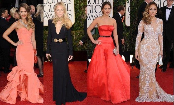 Globurile de Aur 2013: top  rochii superbe!