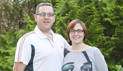 Cuplul care vrea să se căsătorească din nou pentru că au slăbit zeci de kilograme!